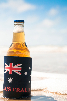 Typically Australian: A Beer on the Beach