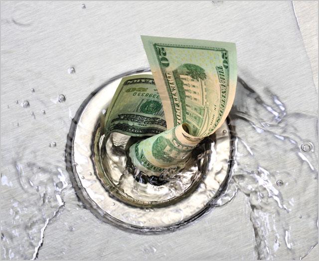 money-drain