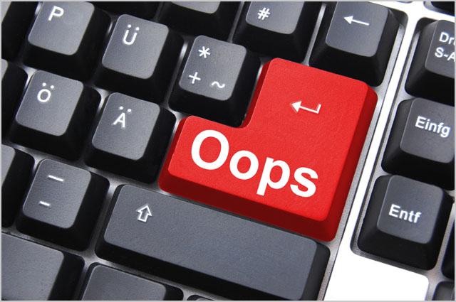 oops key